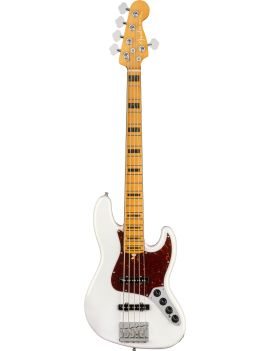 FENDER American Ultra Jazz Bass V Maple Arctic Pearl
