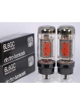 Electro Harmonix 6L6-EH Platinum Match Pair Lot De 2 Lampes De Puissance