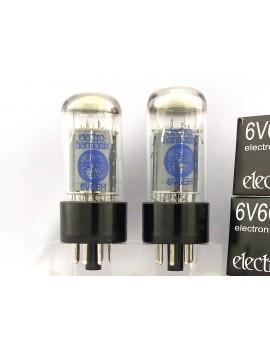 Electro Harmonix 6V6GT platinum match pair lot de 2 lampes de puissance
