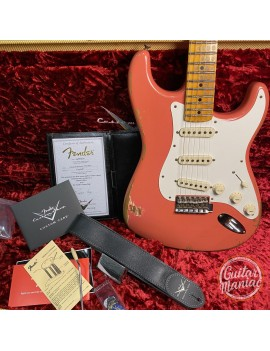 FENDER CUSTOM SHOP W20 NAMM Limited 59 Stratocaster Heavy Relic Faded Aged Tahitian Coral