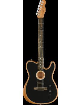 Fender American Acoustasonic Telecaster black + housse
