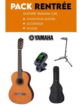 Pack Guitare Yamaha C40...