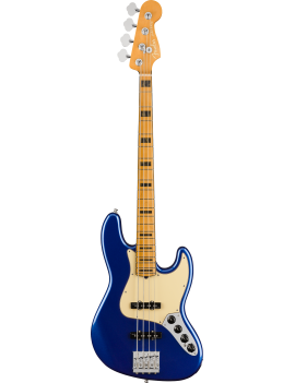 FENDER American Ultra Jazz Bass Maple Cobra Blue