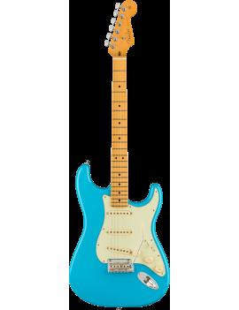 Fender American Professional II Strat MN miami blue + étui livraison gratuite France Monaco Corse