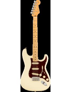 Fender American Professional II Strat MN olympic white + étui livraison offerte