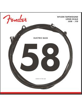 FENDER 9120 Bass Nylon Tapewound 058-110