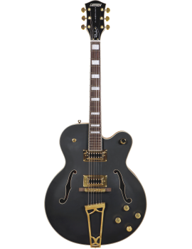 Gretsch G5191BK Tim Armstrong Signature Electromatic Hollow Body Gold Flat Black