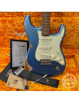 FENDER CUSTOM SHOP 1959 Time Machine Custom Collection Stratocaster Heavy Relic Rosewood Aged Lake Placid Blue