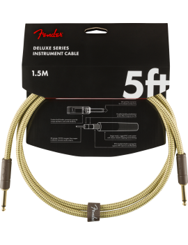FENDER Deluxe Câble 1.5m...