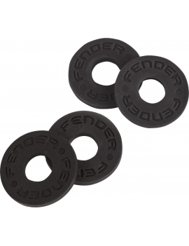 FENDER Strap Blocks x 4 Black