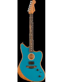 Guitare FENDER Acoustasonic Jazzmaster EB Ocean Turquoise Nice Guitar Maniac