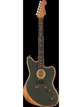 Guitare FENDER Acoustasonic Jazzmaster EB Tungsten Nice Guitar Maniac