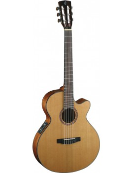 Guitare électro-acoustique Cort CEC5 gloss natural