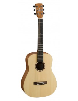 Guitare acoustique folk Earth Mini OP + housse