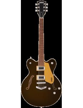 Gretsch G5622 Electromatic Center block double-cut V-Stoptail LRL black gold