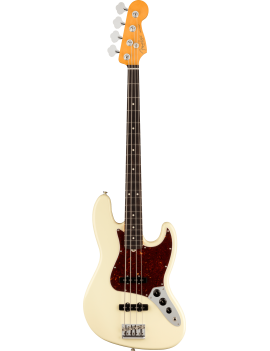Fender American Pro II Jazz Bass RW OWT  olympic white + étui