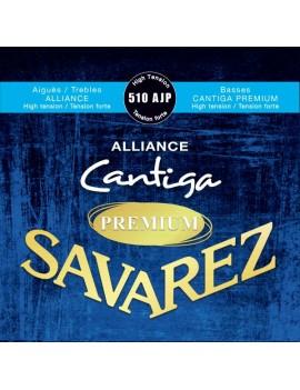 Savarez 510AJP Alliance Premium Cantiga bleu nylon fort