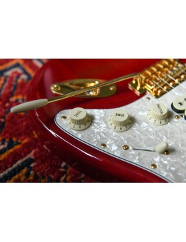 Fender Tash Sultana strat MN transparent cherry + housse
