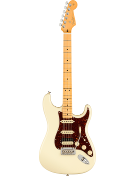 Fender American Professional II strat HSS MN olympic white + étui