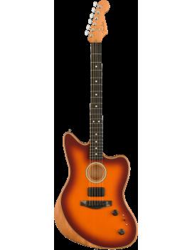 Fender American Acoustasonic Jazzmaster EB tobacco sunburst + housse