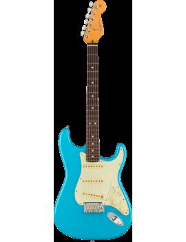 Fender American Professional II Strat RW miami blue + étui livraison gratuite France Corse Monaco