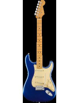 Fender American Ultra Stratocaster MN cobra blue + étui Livraison gratuite France Corse et Monaco
