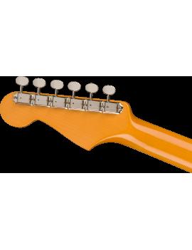 Fender Kenny Wayne Shepherd Strat RW transparent faded sonic blue + étui