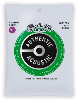 Martin MA175S Authentic Acoustic Silked 80/20 Bronze 11/52