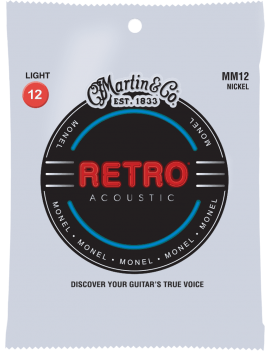Martin MM12 Retro Acoustic cordes acoustiques light 12/54