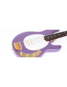 Music Man StingRay 4 Special Amethyst sparkle + étui