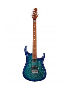 Music Man JP15 John Petrucci cerulean paradise quilt + étui Guitar Maniac Nice livraison offerte