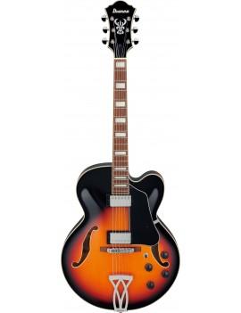 Guitare hollow body Ibanez AF75 BS brown sunburst. Jazz, blues... Guitar Maniac - livraison offerte en France Corse et Monaco