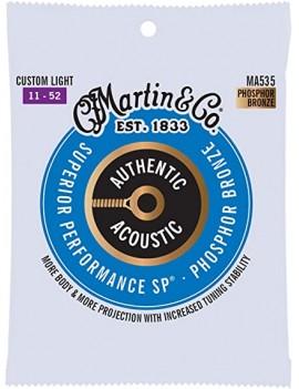Martin MA535 Authentic Acoustic SP 92/8 Phosphor Bronze