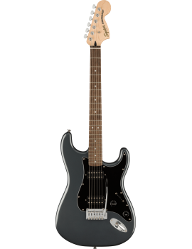 Squier Affinity Stratocaster HH LRL charcoal frost metallic