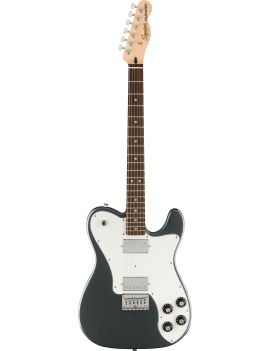 Squier Affinity Telecaster Deluxe LRL charcoal frost metallic