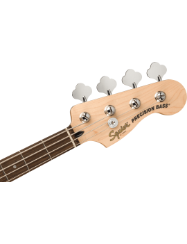 Squier Affinity Precision Bass PJ LRL black pickguard charcoal frost metallic