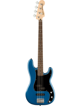 Squier Affinity Precision Bass PJ LRL black pickguard lake placid blue