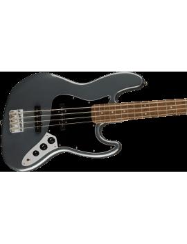 Squier Affinity Jazz Bass PJ LRL black pickguard charcoal frost metallic
