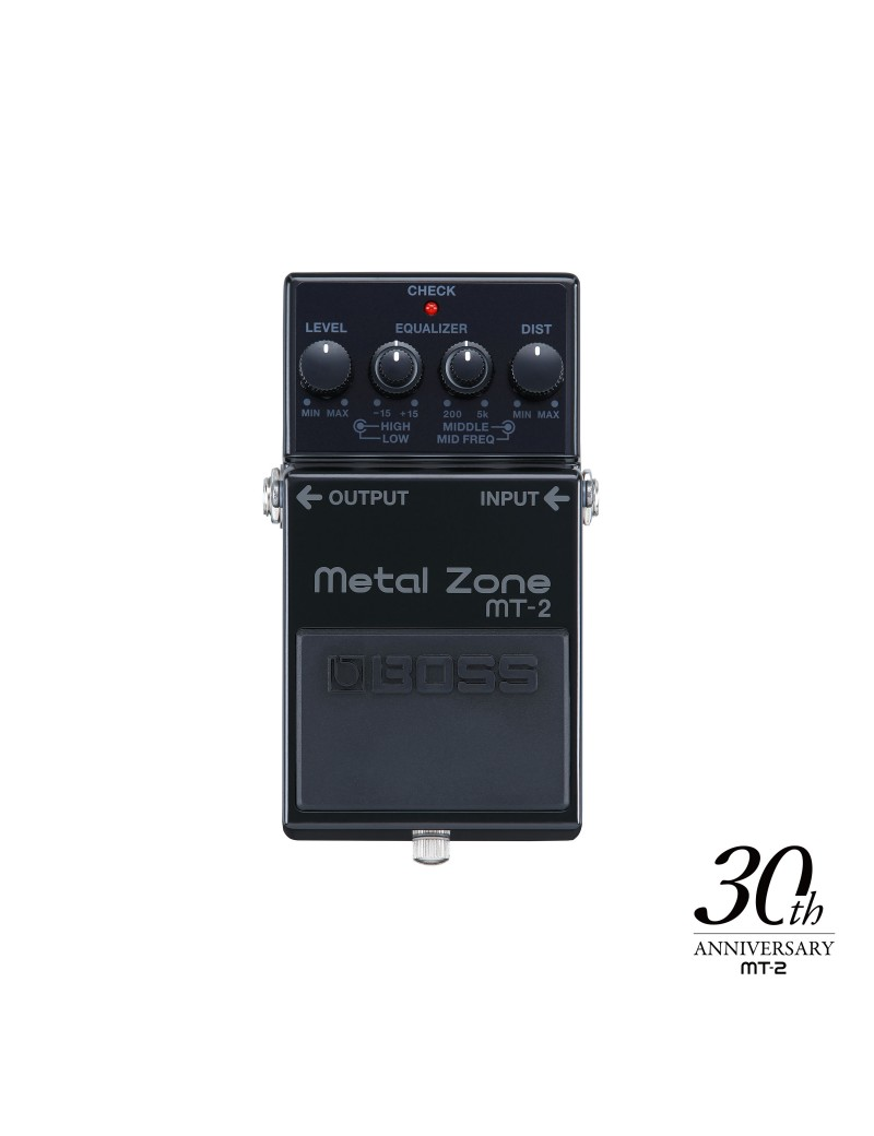 BOSS MT-2-3A Metal Zone Distortion limited edition 30th anniversary