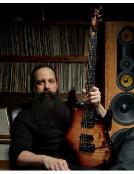 Music Man John Petrucci JP 20th anniversary honey butter burst + étui