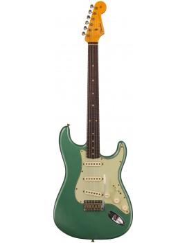 Fender Custom Shop S20 Ltd 60 Strat RW JRN faded aged Sherwood metallic + étui