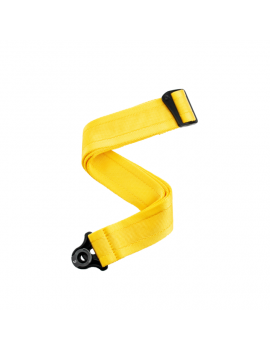 D'Addario 50BAL07 auto lock sangle 50mm mellow yellow