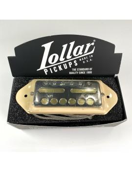 Lollar Gold foil Dogear medium neck nickel cream