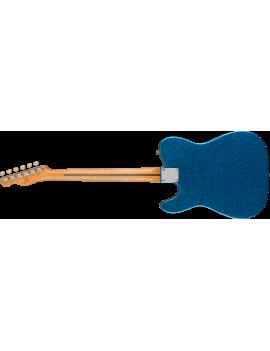 Fender J Mascis Telecaster MN bottle rocket blue flake + housse