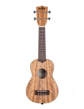 Kala KA-PWS-BAG pacific walnut ukulele soprano + housse