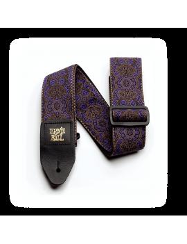 Ernie Ball sangle Jacquard 4164 Purple Paisley