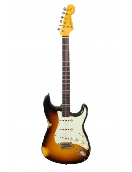 Fender Custom Shop 2020 Time machine 60 Strat heavy relic faded aged 3SB GUITAR MANIAC