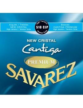 Savarez 510CJP New Cristal Cantiga premium cordes classique nylon bleu