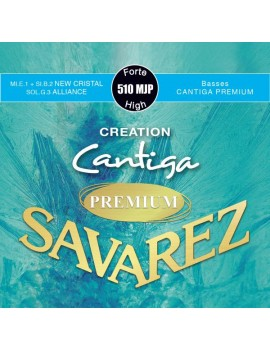 Savarez 510MJP Creation Cantiga Premium bleu 0698502504890