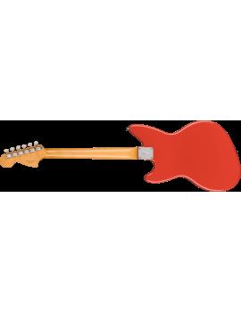 0141030340 Fender Kurt Cobain Jag-Stang RW fiesta red